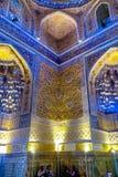 Samarkand Gur-e Amir Mausoleum 11 fotografia de stock royalty free