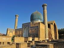 Samarkand: Gur emira mauzoleum zdjęcie stock