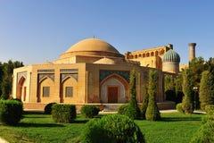 Samarkand: historischer Tempel lizenzfreie stockbilder