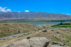 Samarkand a la carretera 01 de Shahrisabz imagenes de archivo