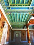 Samarkand patterns and ornaments Royalty Free Stock Images
