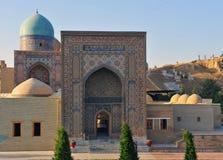 Samarkand: puerta del Sah-yo-zinda fotografía de archivo libre de regalías
