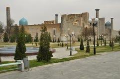 Samarkand. Registan Photos libres de droits