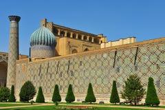 Samarkand: Registan-Ensemble stockbilder
