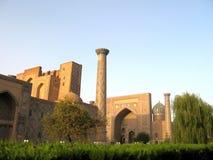 Samarkand Registan September 2007 Royaltyfri Fotografi