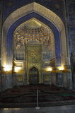 Samarkand. Registan.Tilya-Kori Madrasah Obraz Royalty Free