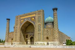 Free Samarkand Registon Square 01 Royalty Free Stock Image - 141092566