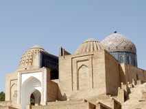 Samarkand Shakhi-Zindah ensemble of mausoleums 2007 Royalty Free Stock Image