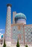 Samarkand, Sher Dor Madrasah Stock Photography