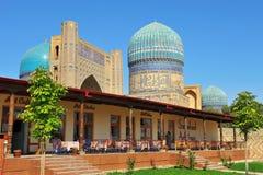 Samarkand, Uzbekistan. Bibi Khanym mosque. 11 of September 2017 royalty free stock images