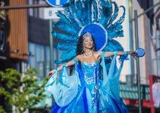 Samba καρναβάλι του Τόκιο Asakusa στοκ φωτογραφία με δικαίωμα ελεύθερης χρήσης