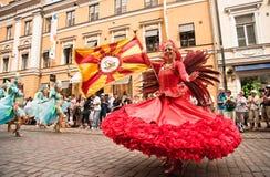 Samba Carnaval di Helsinki Fotografia Stock Libera da Diritti