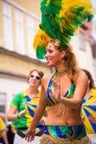 Samba carnival in Coburg 11 Royalty Free Stock Photo