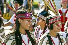 Samba carnival dancer Royalty Free Stock Image