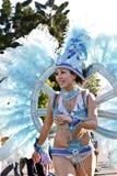 Samba carnival dancer Stock Image