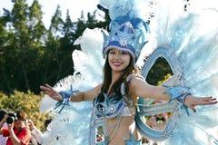 Samba carnival dancer Royalty Free Stock Photos