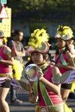 Samba carnival dancer Stock Images