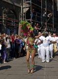 Samba carnival participant royalty free stock photography