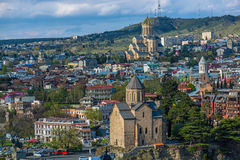 Samba Cathedral in Tbilisi Stock Photography