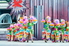 Samba children dance Royalty Free Stock Image