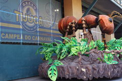 Samba City in Rio de Janeiro Stock Images