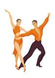 Samba da dança Foto de Stock