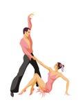 Samba Dance Imagens de Stock