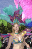 SAMBA DANCE CARIVAL FESTIVAL Royalty Free Stock Photo