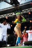 Samba Dancer Lizenzfreie Stockfotografie