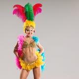 Samba Dancer Royalty-vrije Stock Fotografie