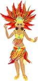 Samba Dancer Fotos de archivo