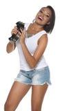 Samba Dancer immagini stock libere da diritti