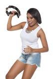 Samba Dancer fotografie stock