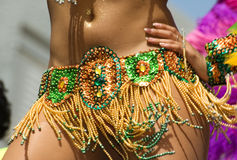 Samba dancer Royalty Free Stock Photo