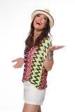 Samba Dancer fotografia stock libera da diritti