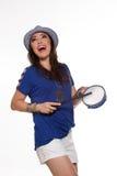 Samba Dancer fotografie stock libere da diritti