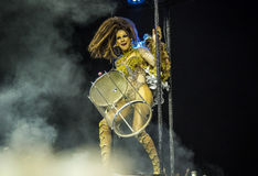 Samba Dancer at Carnaval Stock Images