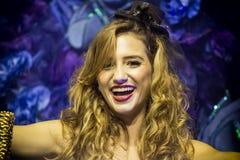 Samba Dancer en Carnaval Foto de archivo libre de regalías