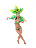 Samba dancer Royalty Free Stock Images