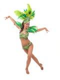 Samba dancer Royalty Free Stock Photo