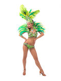 Samba dancer Stock Image