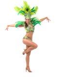Samba dancer Royalty Free Stock Photos