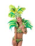 Samba dancer Stock Photography