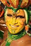 Colourful fiesta in Cartagena, Colombia royalty free stock photography