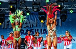 Samba dancer Stock Photos
