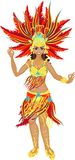 Samba dancer Stock Photos
