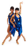Samba dancers Royalty Free Stock Photography