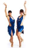 Samba dancers Royalty Free Stock Image