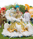 Samba dancers Royalty Free Stock Photos