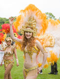 Samba dancers Stock Images